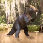 Parasaurophus 3d model