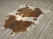 动物皮肤地毯 3d model