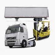 Logistics Collection Vol.1 3d model