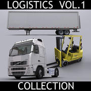 物流集Vol.1 3d model
