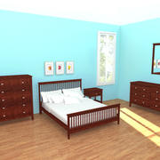 BedroomSet_1 3d model