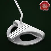 Odyssey White Steel 2 Ball 3d model