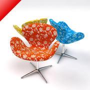 Łabędzie krzesło 3d model