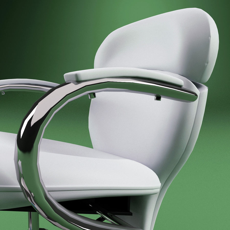 Pedicure Chair V2 royalty-free 3d model - Preview no. 11