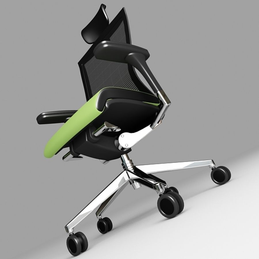 Techo SIDIZ Chair royalty-free 3d model - Preview no. 4