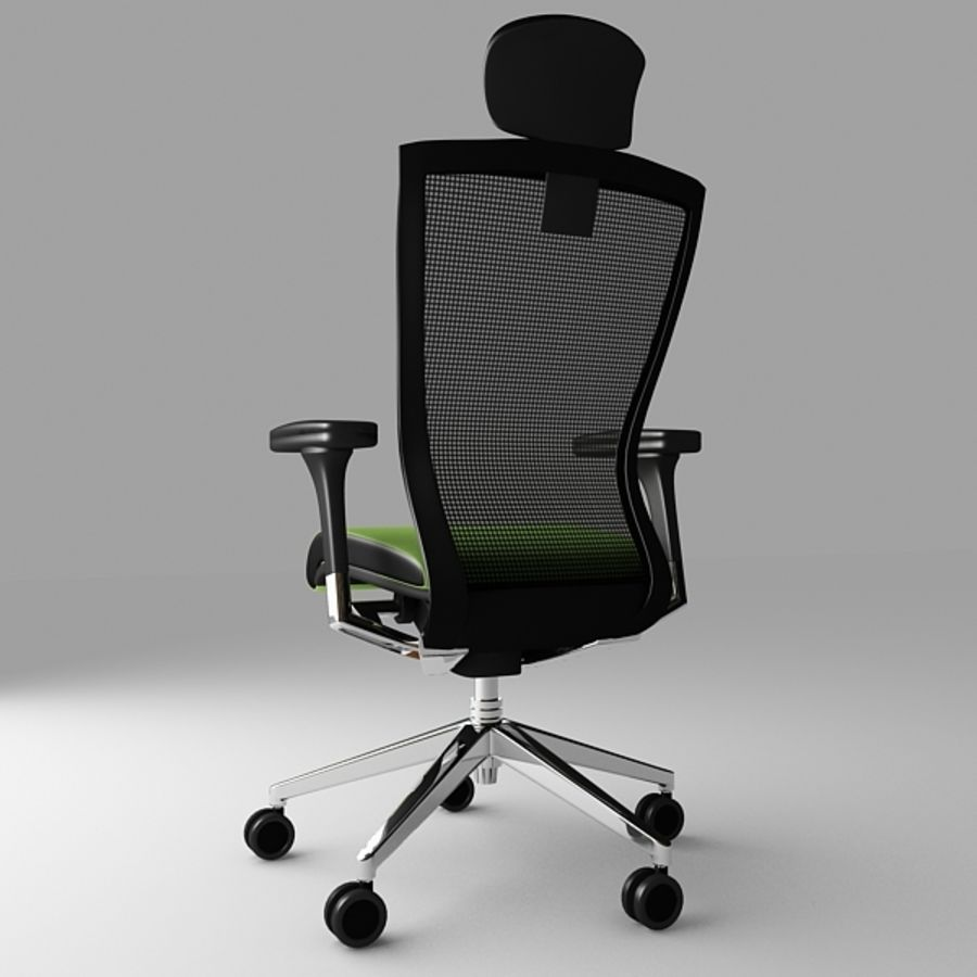 Techo SIDIZ Chair royalty-free 3d model - Preview no. 5