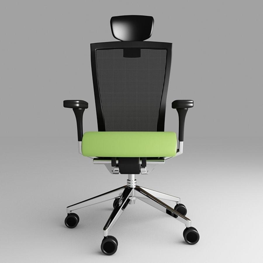 Techo SIDIZ Chair royalty-free 3d model - Preview no. 1