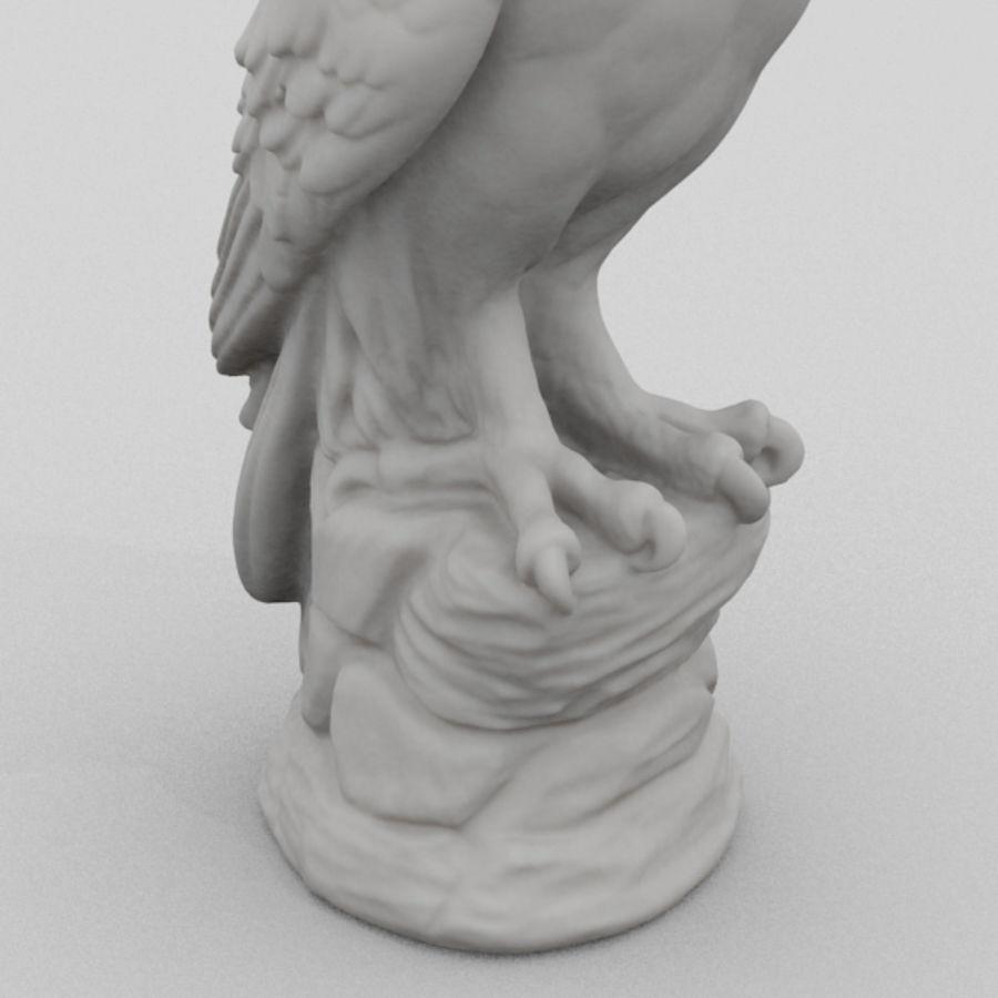 Estátua de coruja 3D Scan royalty-free 3d model - Preview no. 3