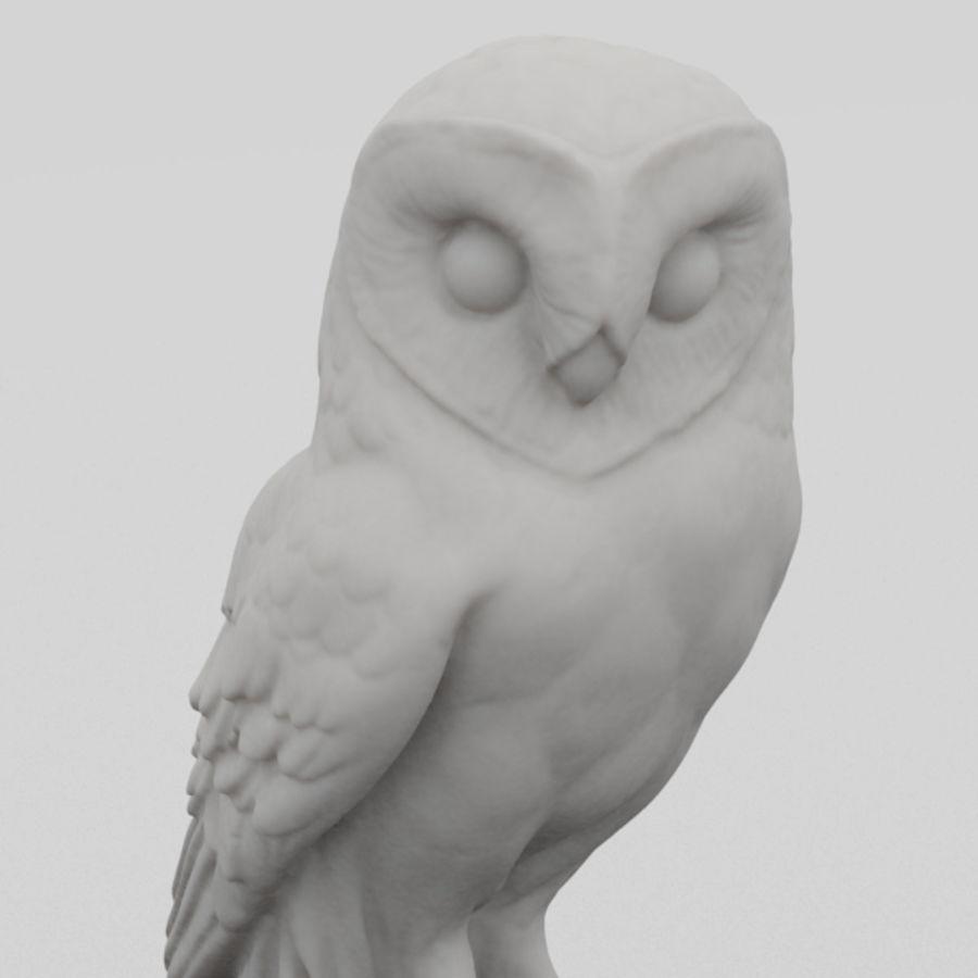 Estátua de coruja 3D Scan royalty-free 3d model - Preview no. 2