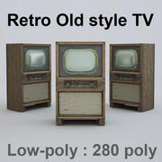Tv retro 3d model