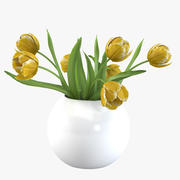 Tulip Bouquet 3d model