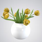 Tulip Bouquet 3d model