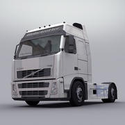 볼보 트럭 FH 12 3d model