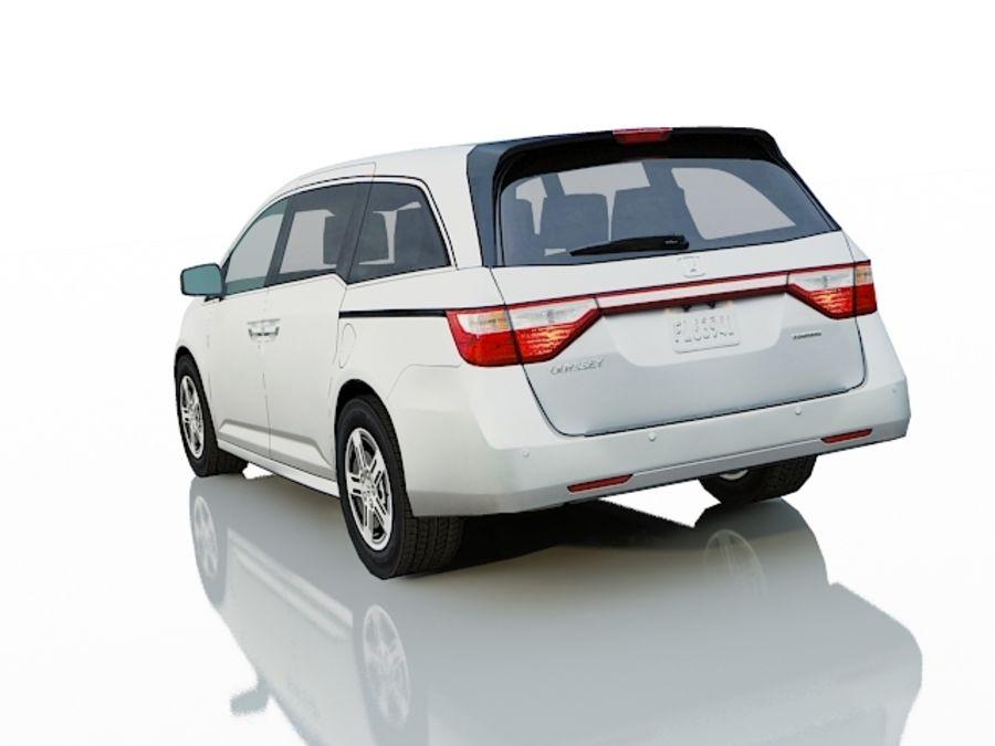 Honda Odyssey royalty-free 3d model - Preview no. 4