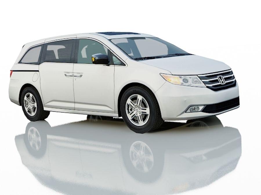 Honda Odyssey royalty-free 3d model - Preview no. 9