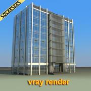 Finance Building 3d model