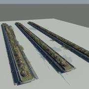 Grow Racks 3d model