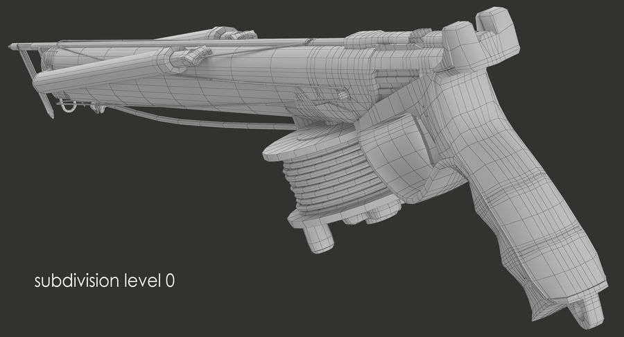 Fucile royalty-free 3d model - Preview no. 13