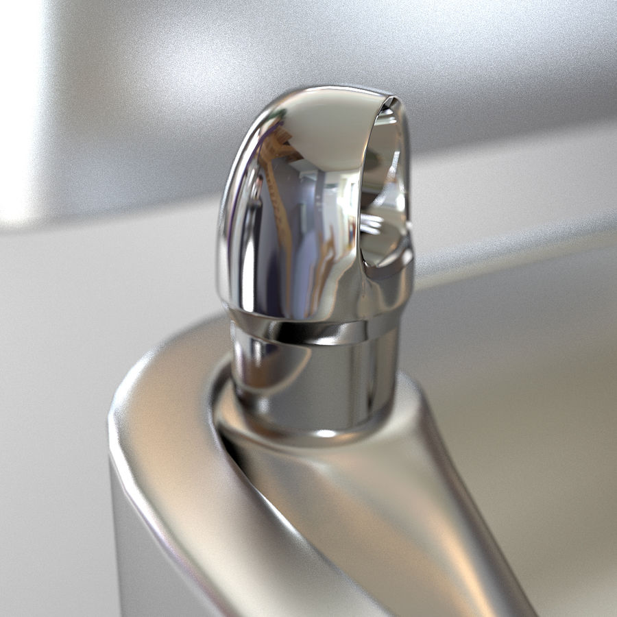 Drinking fountain royalty-free 3d model - Preview no. 7