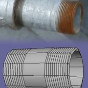 Grundrohrleitungssatz OBJ 3d model