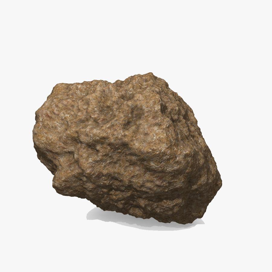 Asteroide o roccia royalty-free 3d model - Preview no. 5