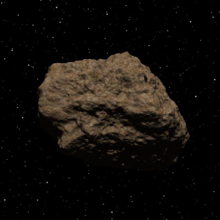 Asteroide o roccia royalty-free 3d model - Preview no. 2