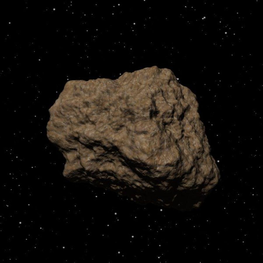 Asteroide o roccia royalty-free 3d model - Preview no. 1