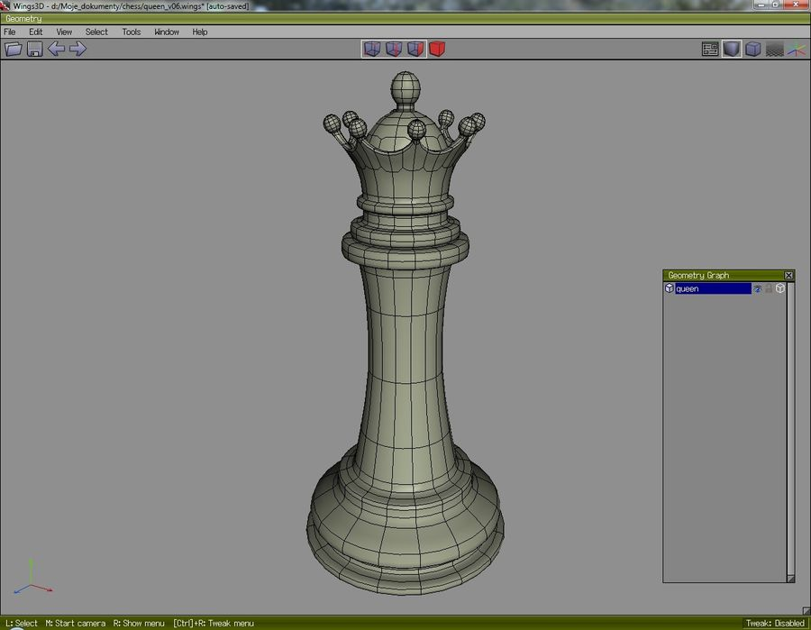 chess royalty-free 3d model - Preview no. 13