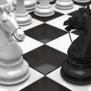 satranç 3d model