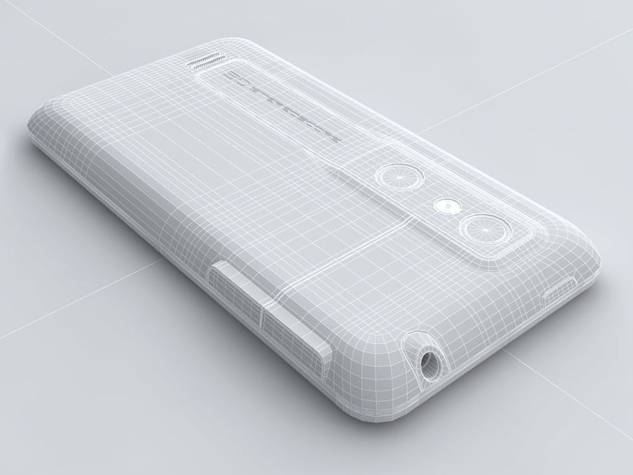 LG Optimus 3D royalty-free 3d model - Preview no. 24