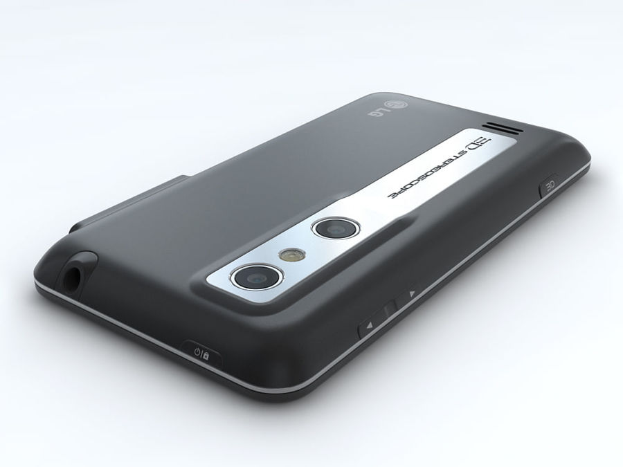 LG Optimus 3D royalty-free 3d model - Preview no. 12