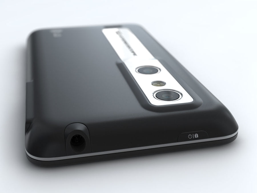 LG Optimus 3D royalty-free 3d model - Preview no. 13