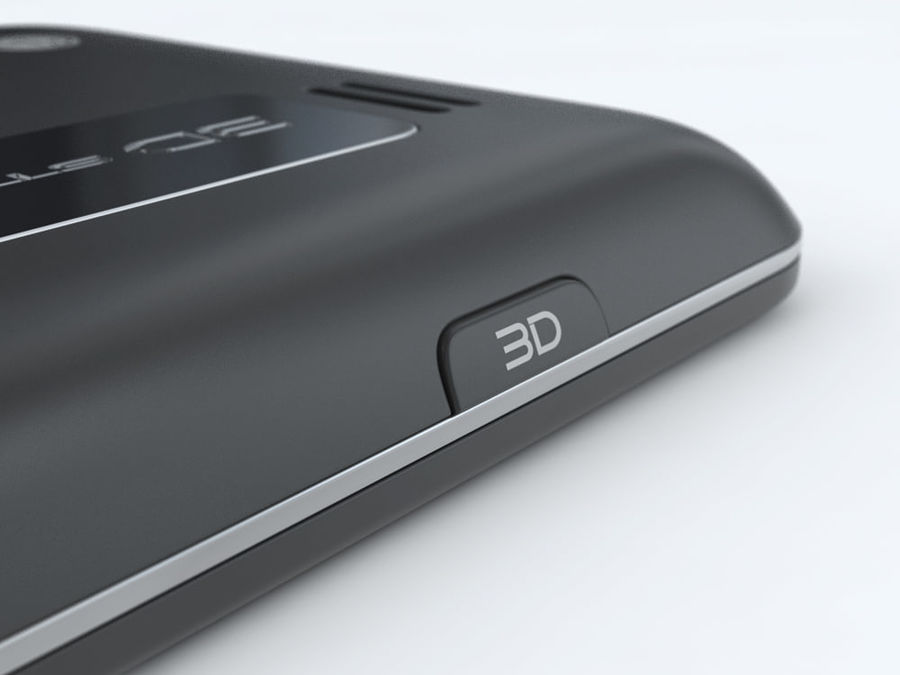 LG Optimus 3D royalty-free 3d model - Preview no. 22