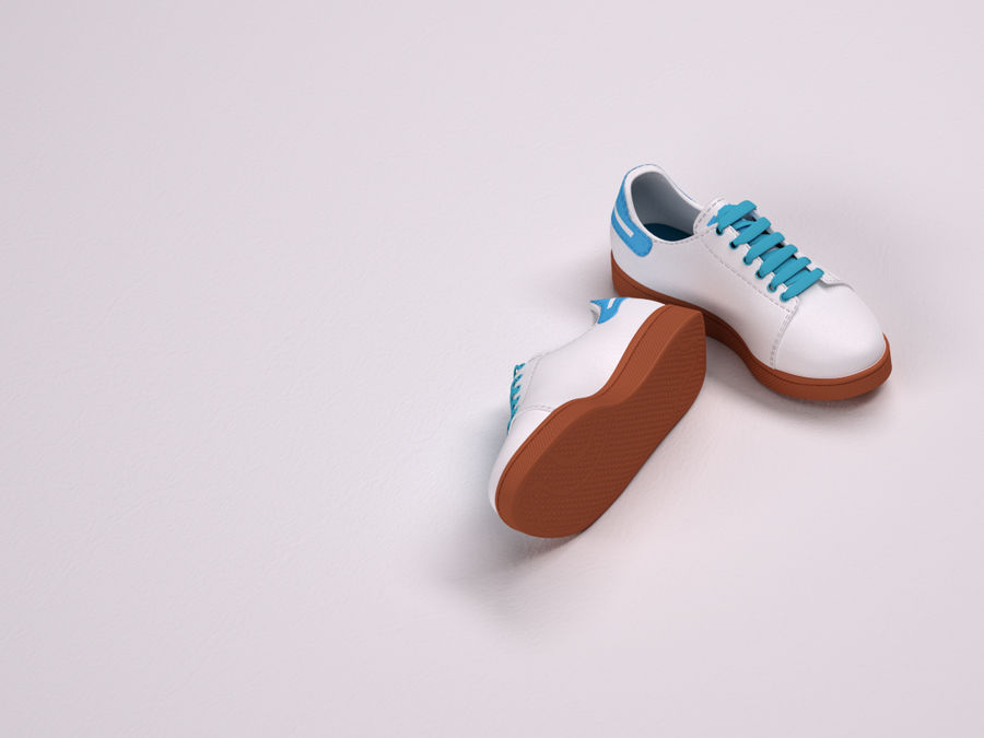 Shoes s royalty-free 3d model - Preview no. 4