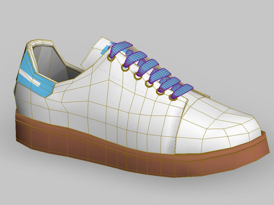 Shoes s royalty-free 3d model - Preview no. 7