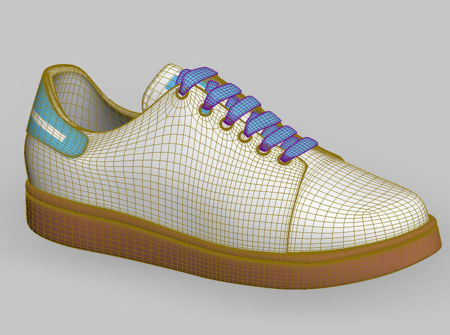 Shoes s royalty-free 3d model - Preview no. 8