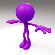 Bighead Man 3d model