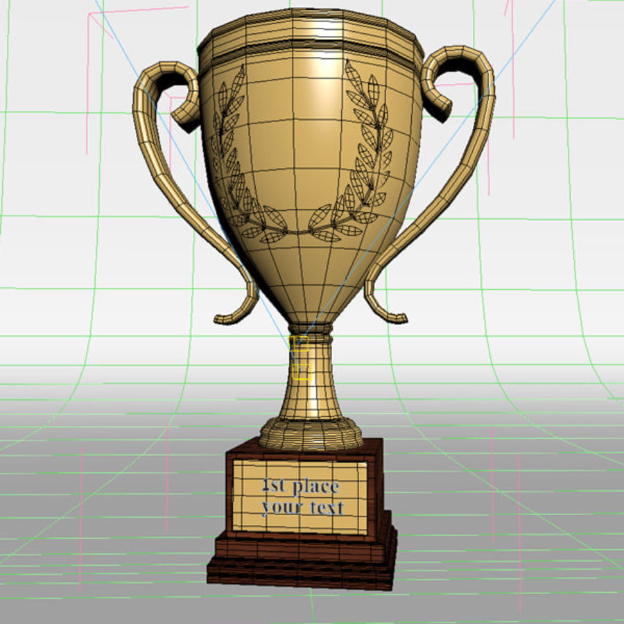 Trophäe royalty-free 3d model - Preview no. 9