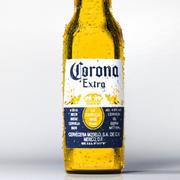 Garrafa de Cerveja Corona 3d model