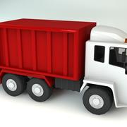Bin Wagon Refuse Truck Waste Garbage Vehicle 3d model