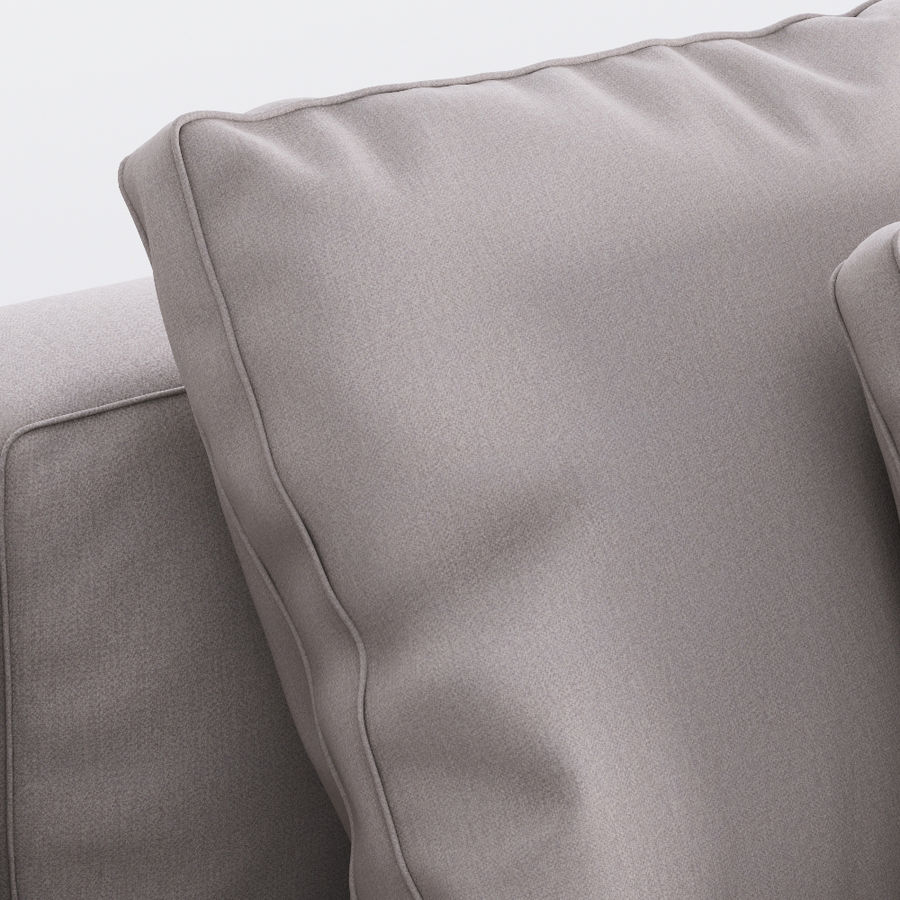 Flexform Pleasure Sofa royalty-free 3d model - Preview no. 6