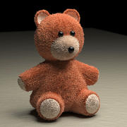 Teddy Bear v3 3d model