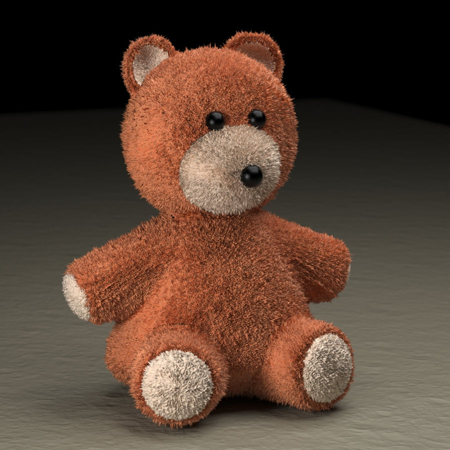 Teddy Bear royalty-free 3d model - Preview no. 2