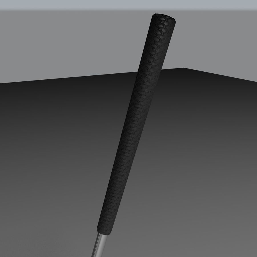 Golf Equipment royalty-free 3d model - Preview no. 5