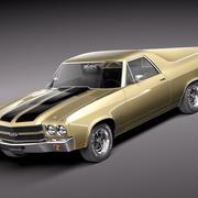 Chevrolet El Camino 1970 3d model