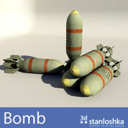 폭탄 3d model