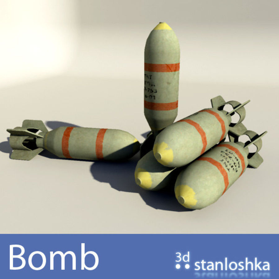 Bomb royalty-free 3d model - Preview no. 1
