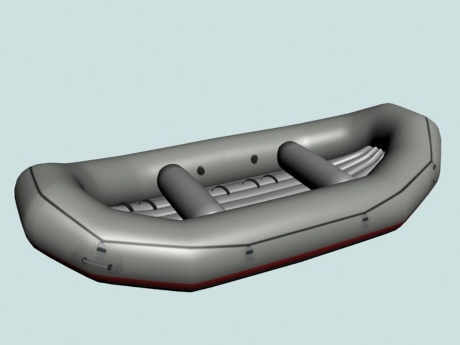 Raft_R7 royalty-free 3d model - Preview no. 3