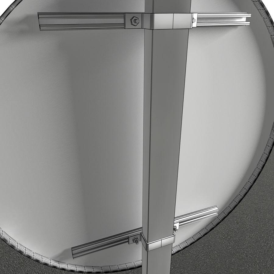 Коллекция французских дорожных знаков royalty-free 3d model - Preview no. 5
