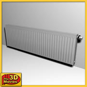 Large Low-Poly Heating Radiator 3d model